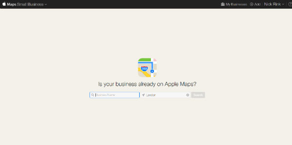 Find your business on Apple Maps Connect
